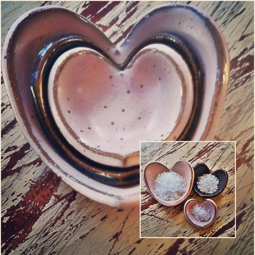 Nested Heart Bowls