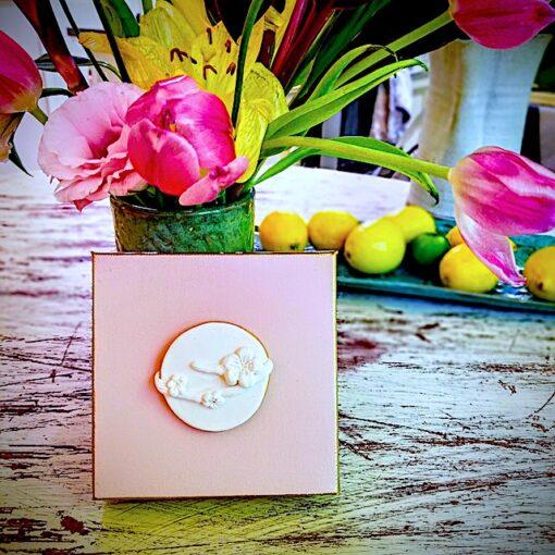 cherry blossom intaglio hopesake